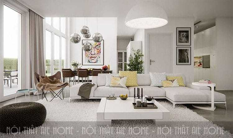 Tư vấn thiết kế nội thất biệt thự mini đẹp và sang trọng