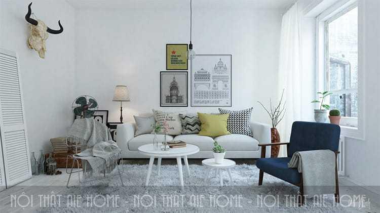 3 lưu ý không thể không biết khi thiết kế nội thất chung cư 90m2 3 phòng ngủ