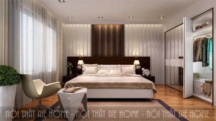 Hé lộ tip thiết kế nội thất chung cư 2 phòng ngủ siêu ấn tượng