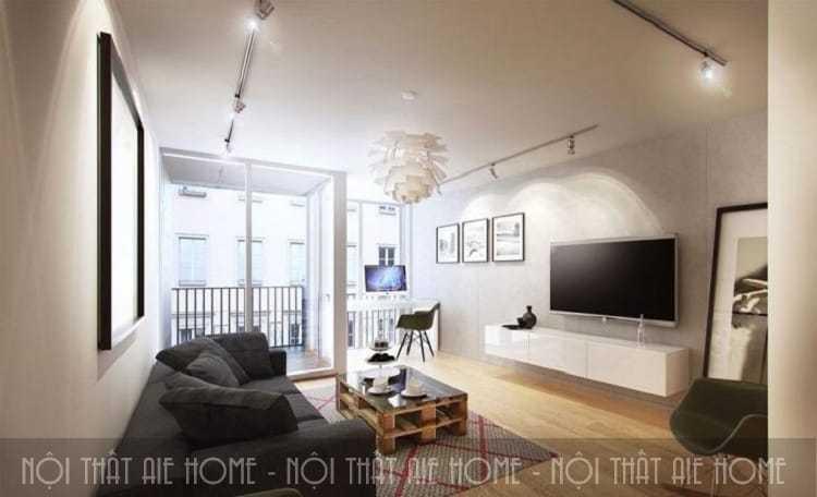 Xu hướng thiết kế nội thất chung cư 65m2 mới nhất 2018