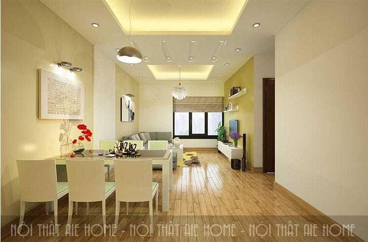 Tư vấn mẫu thiết kế nội thất chung cư Linh Đàm, nhìn là mê