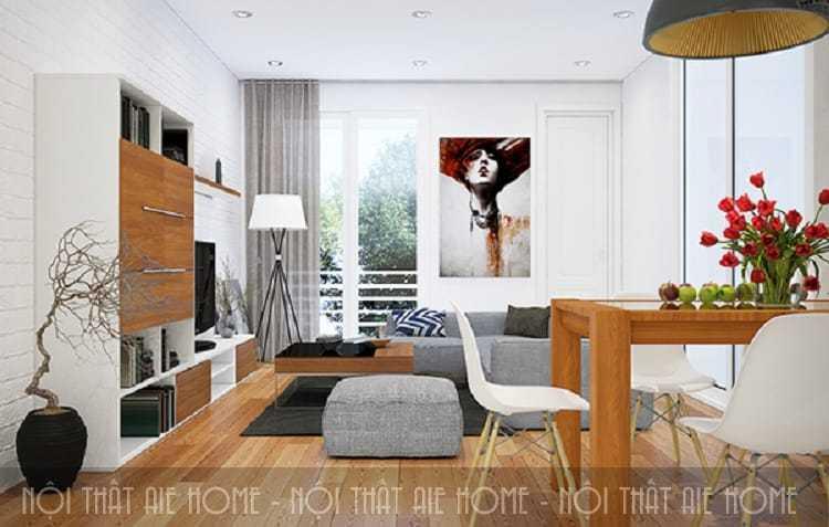 Thiết kế nội thất chung cư hiện đại – Những thông tin không thể bỏ qua