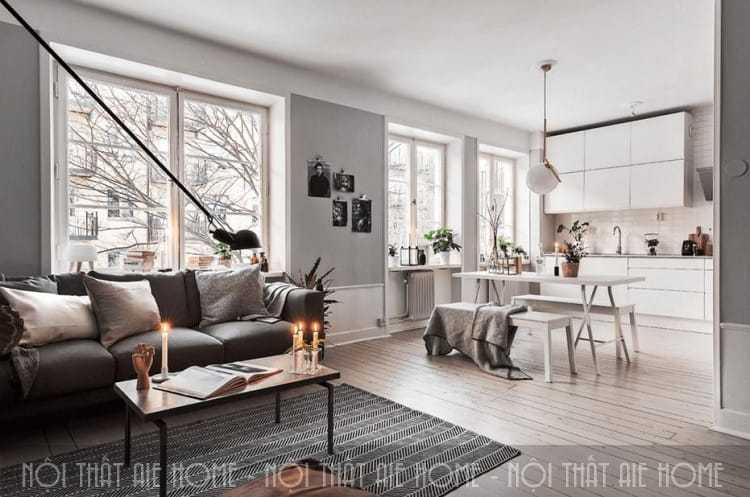 Rỉ tai một số điều cần biết khi thiết kế nội thất chung cư nhỏ vạn người mê
