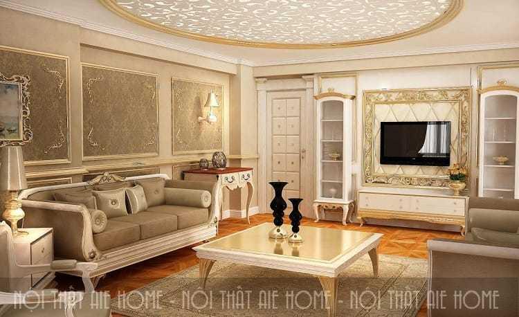 Sở hữu thiết kế nội thất chung cư tân cổ điển đẹp nhất 2018