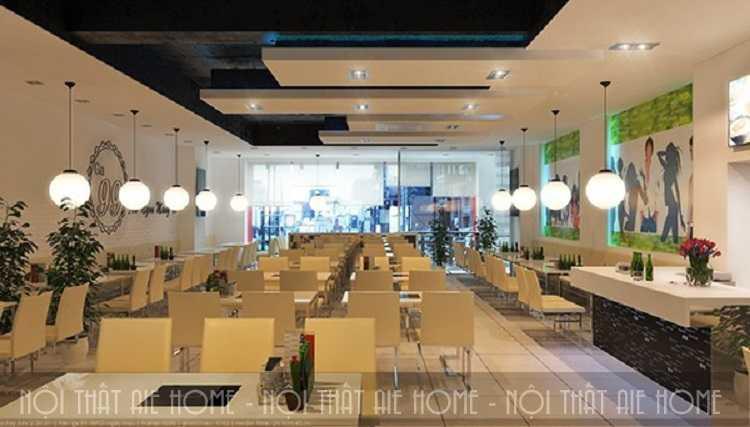 4 bí quyết thiết kế nội thất nhà hàng hợp phong thủy