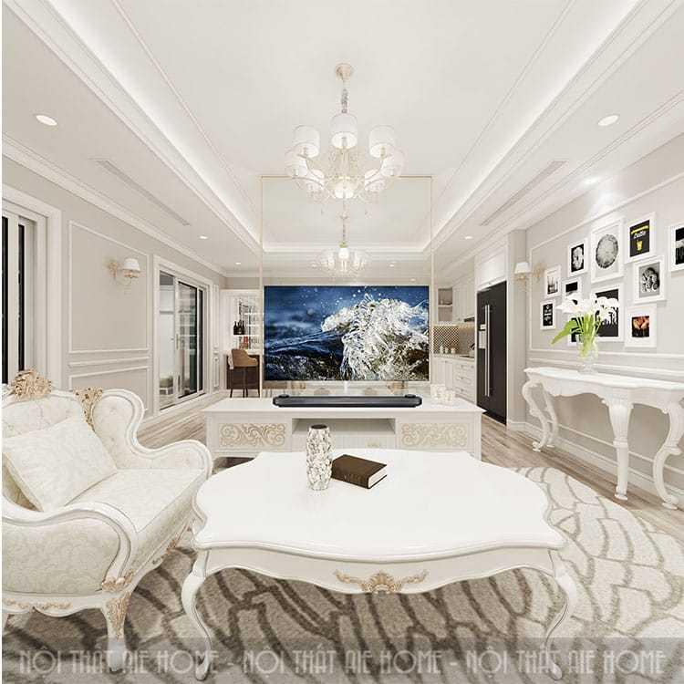 Chuyên gia tư vấn thiết kế nội thất phòng khách chung cư gọn gàng, tiện lợi
