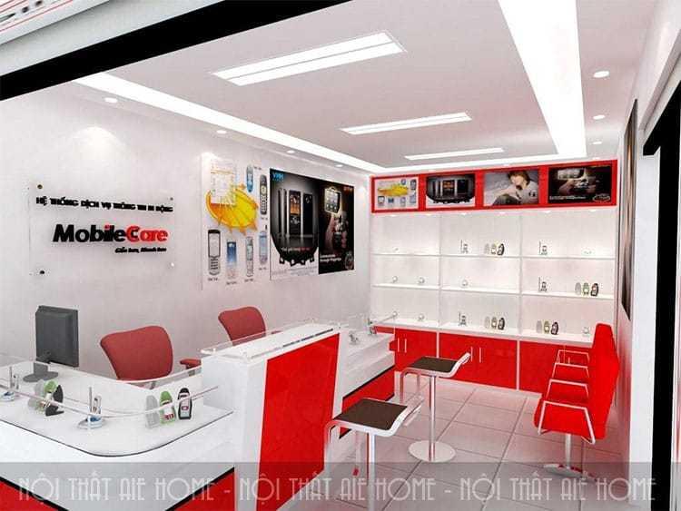 Những điều cần chú ý khi bắt đầu thiết kế nội thất showroom