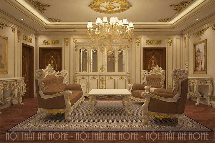 Thiết kế nội thất tân cổ điển - Anh Đức, Ninh Bình