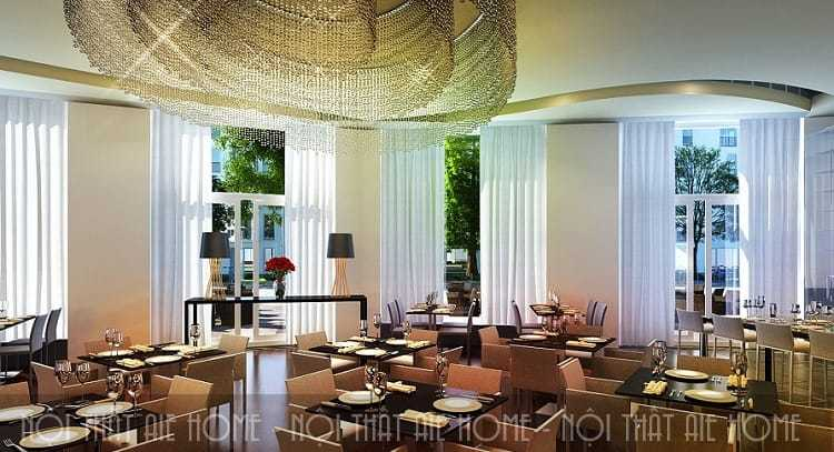 Các yếu tố không thể bỏ qua khi thiết kế phòng ăn khách sạn