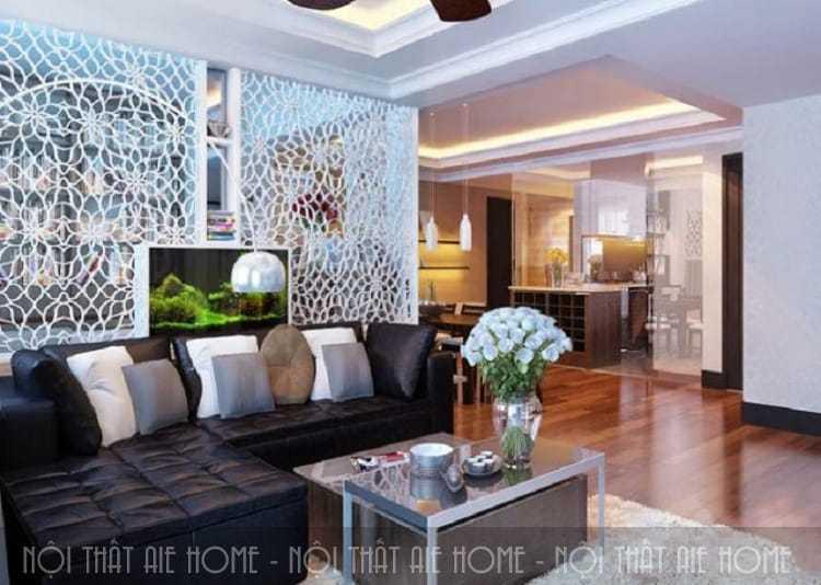 Thiết kế phòng khách chung cư đẹp hiện đại nhất định phải biết những điều sau