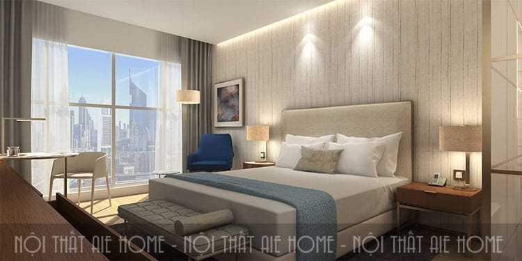 Thiết kế phòng ngủ khách sạn ấn tượng đừng quên những yếu tố sau