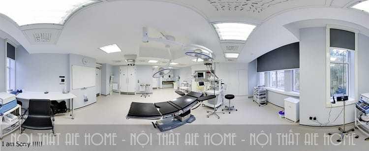 Thiết kế phòng phẫu thuật thẩm mỹ viện đạt tiêu chuẩn mới nhất 2018