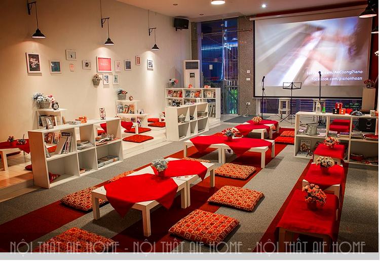 Bí quyết thiết kế quán cafe bệt ấn tượng, hút khách