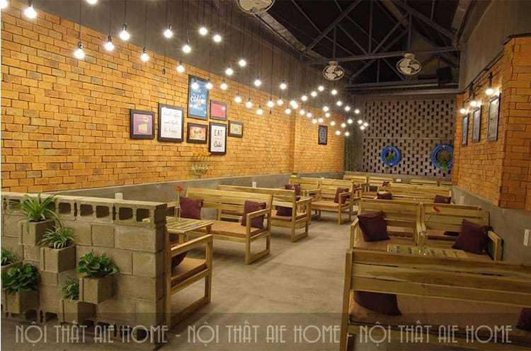 3 lưu ý nhất định phải biết khi thiết kế quán cafe bình dân
