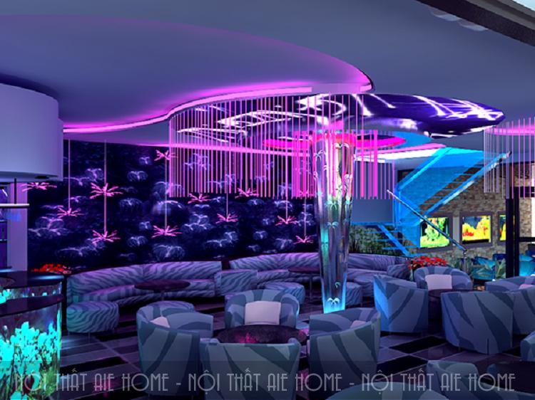 """Gọi tên những mẫu thiết kế quán cafe karaoke """"chất"""" nhất hiện nay"""