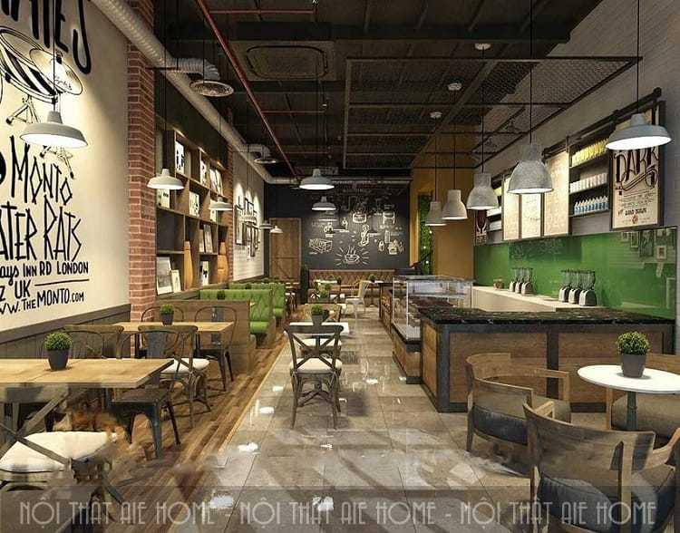 Những thông tin cần lưu ý khi thiết kế quán cafe vintage