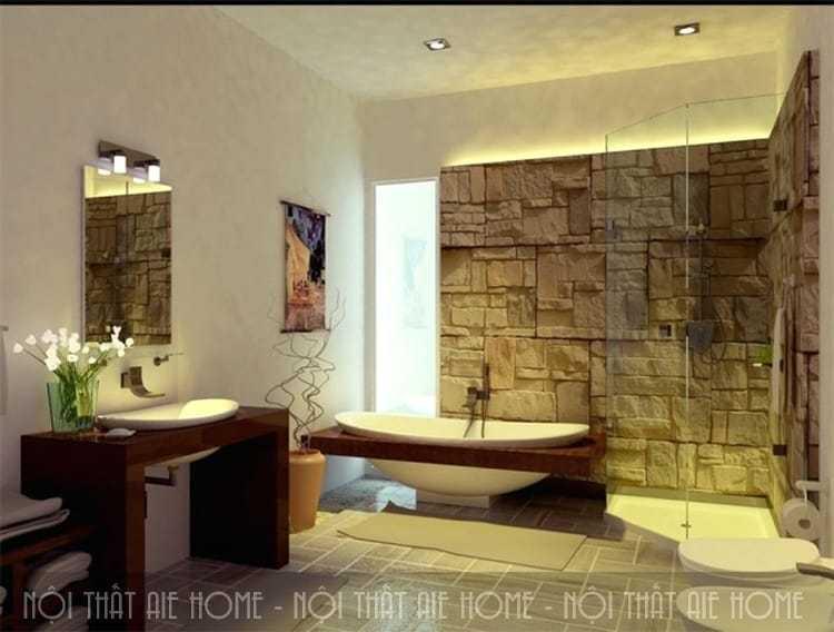 Bí kíp thiết kế spa tại nhà từ phòng tắm cực ấn tượng