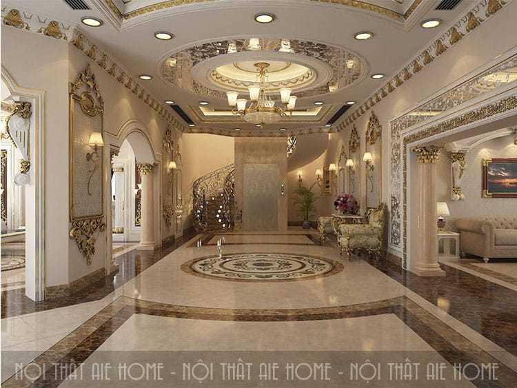 3 lưu ý không thể bỏ qua khi thiết kế tiền sảnh biệt thự