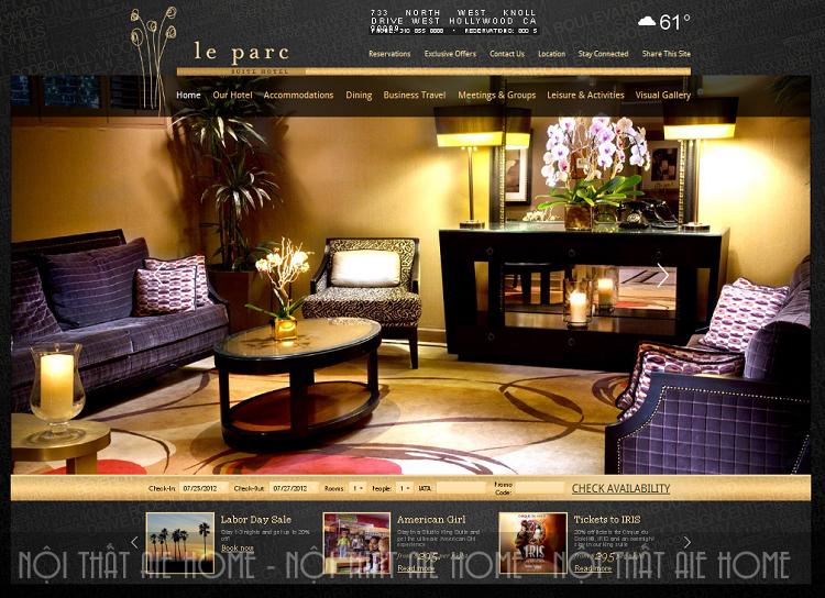 """Những lưu ý giúp bạn sở hữu một thiết kế website khách sạn """"nhiều lượt view"""""""