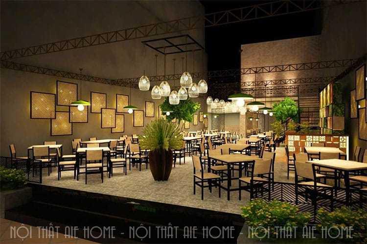 Top 10 mẫu thiết kế nhà hàng đẹp, sang trọng nhất