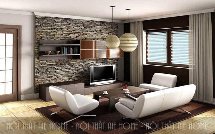 Tư vấn thiết kế nội thất căn hộ chung cư 45m2 2 phòng ngủ lung linh
