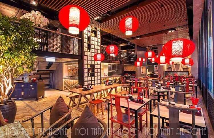 2 phong cách thiết kế nhà hàng Trung Hoa ấn tượng nhất hiện nay