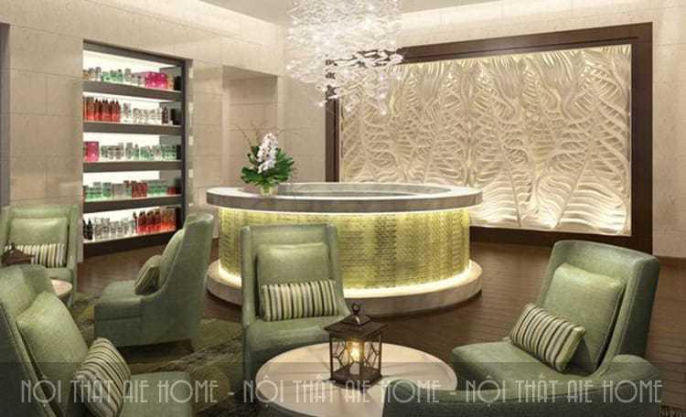 Tìm hiểu xu hướng thiết kế spa hiện nay - Nội thất AIE PLUS