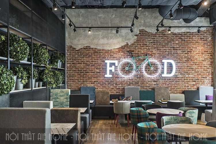Điểm danh các phong cách ý tưởng thiết kế nhà hàng có 1-0-2