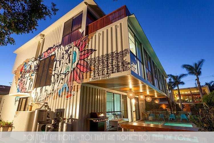 Những ý tưởng thiết kế quán cafe container cực hút khách